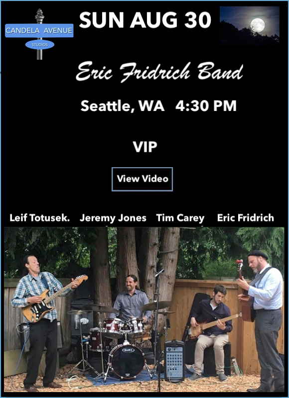 Leif Totusek Eric Fridrich Band - Live on facebook