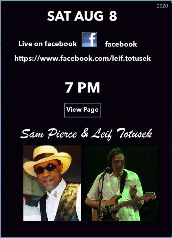 Leif Totusek & Sam Pierce Live on Facebook AUG 8, 2020