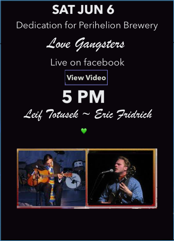 Leif Totusek Live on Facebook JUN 6, 2020