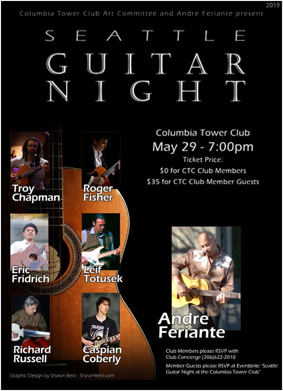 Leif Totusek - Seattle Guitar Night